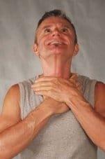 Gesichtsyoga Übung: Nackenstrecker